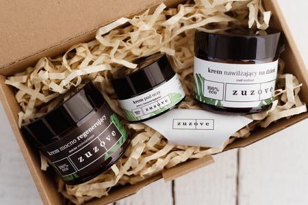 Zestaw prezentowy kosmetyków naturalnych